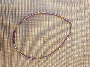 Seed Bead Anklet-A11-10-0001