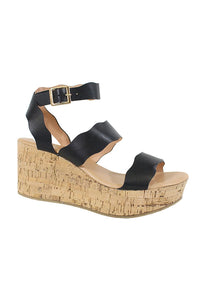 S-0002 Black scrappy wedges