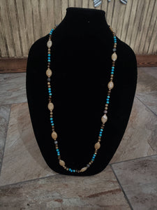 Multi-bead necklace-N-0011