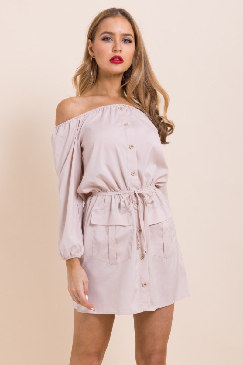 0063 Dusty Rose Romper