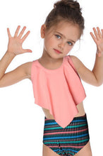Load image into Gallery viewer, SW50 pink ruffle top (Child)