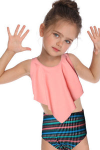 SW50 pink ruffle top (Child)
