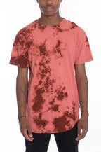M003 Mens Red Swirl Shirt