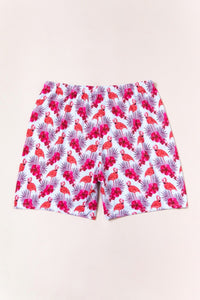 SW55 Pink flamingo swim trunks (MENS)