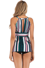 Load image into Gallery viewer, SW22 multi Color striped PLUS top