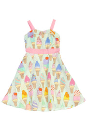 Ice Cream Girl Dress