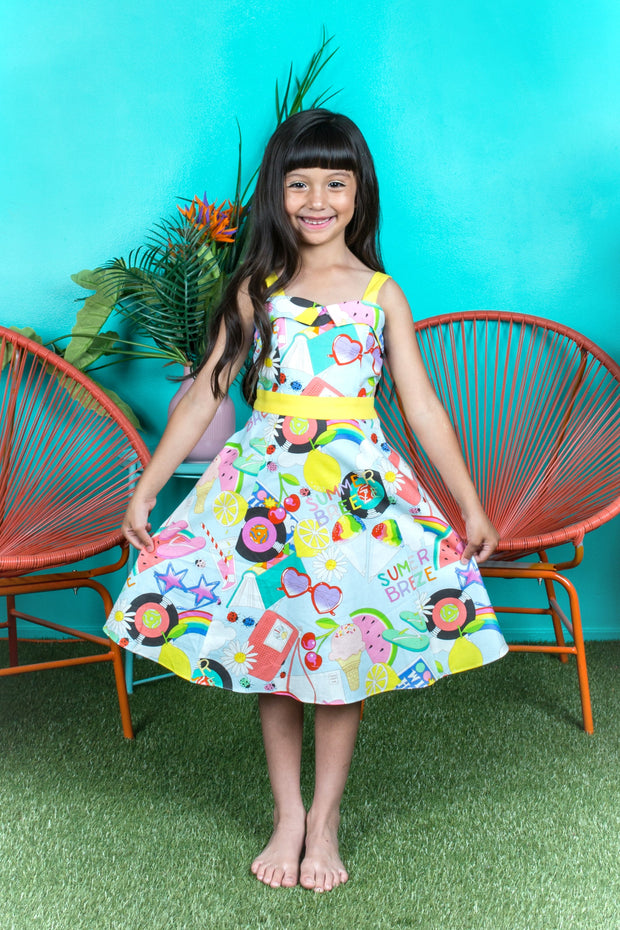 Summer Breeze Girl Dress