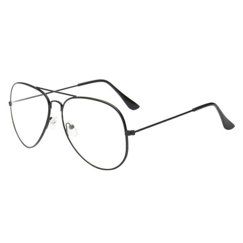 c226684c4 ... Image of Men Women Clear Lens Glasses Metal Spectacle Frame Myopia  Eyeglasses Lunette Fe ...