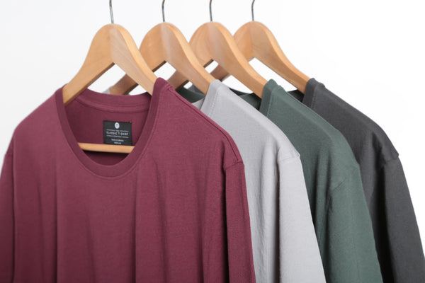 sustainable wardrobe classic t-shirt