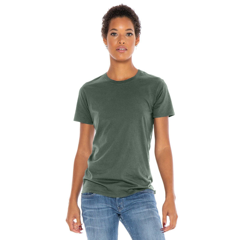 green organic cotton t-shirt - front