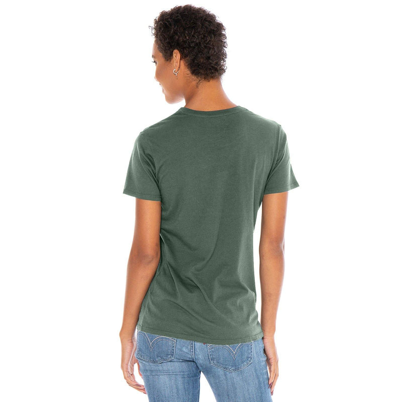 green organic cotton t-shirt - back