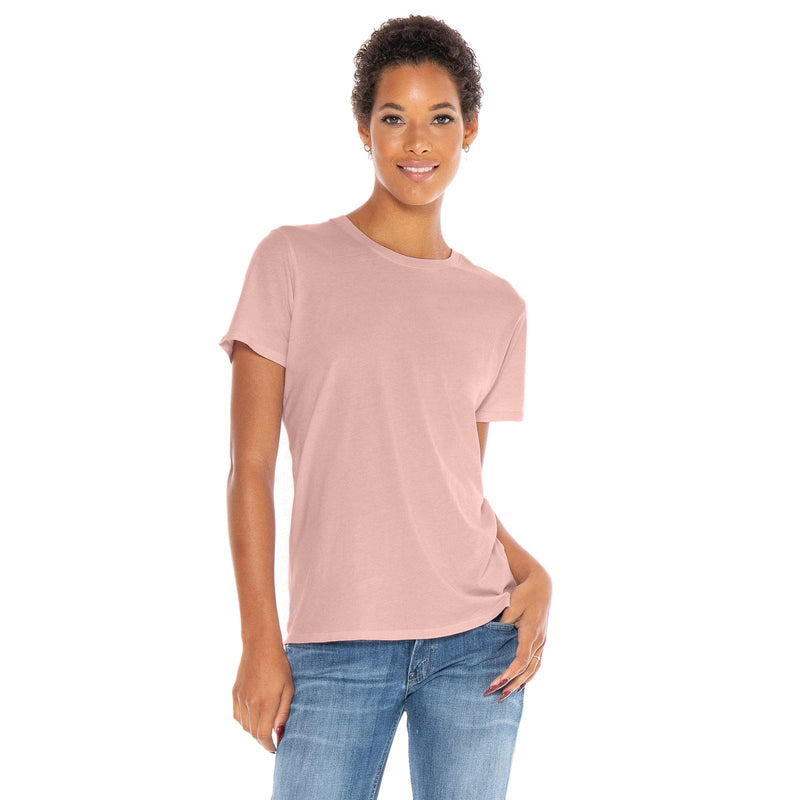 blush organic cotton t-shirt - front view