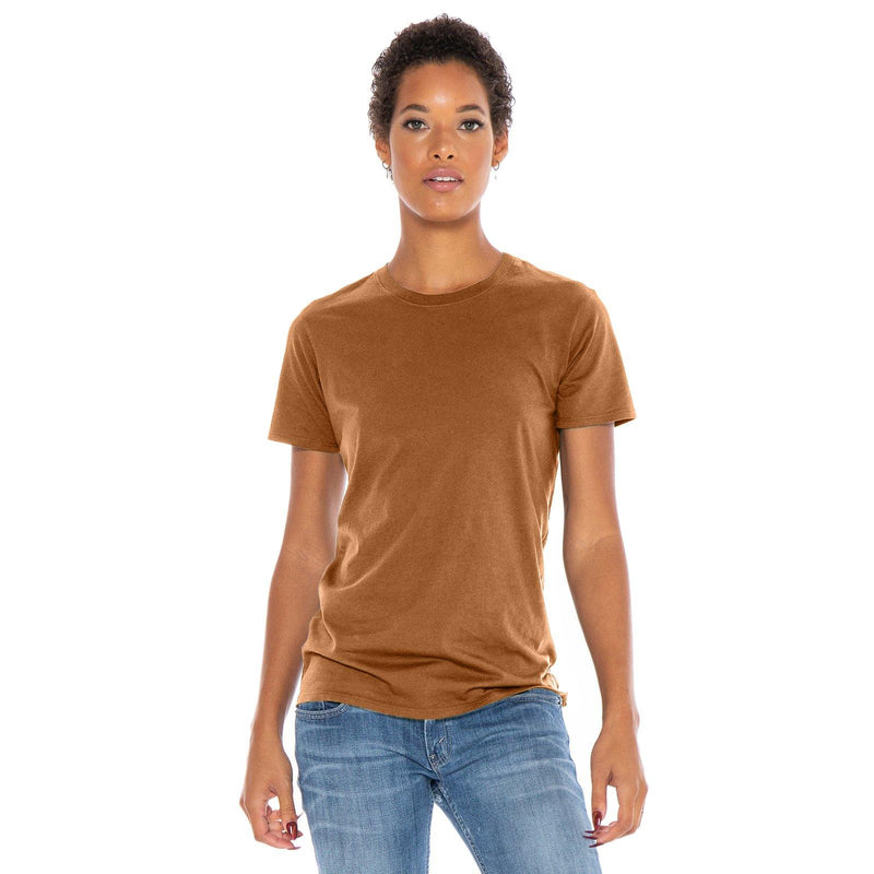copper organic cotton t-shirt - front view
