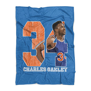 Charles Oakley Fleece Blanket | 500 LEVEL