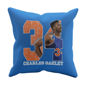 Charles Oakley Throw Pillow | 500 LEVEL