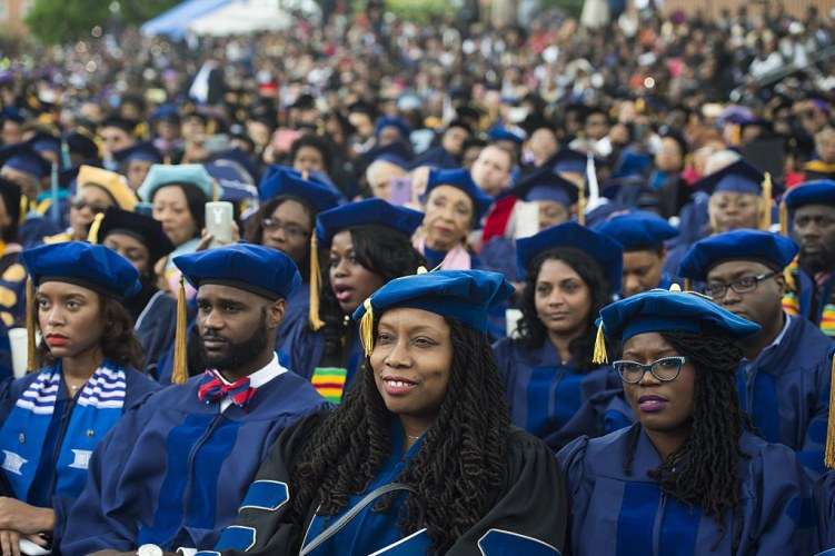 Photo Credit: Getty - Image of Howard University Graduates