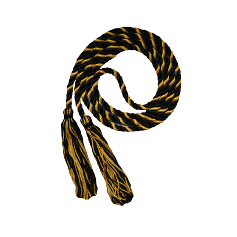 black and gold honor cord from senior class graduation products