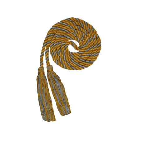 gold and silver honor cord from senior class graduation products