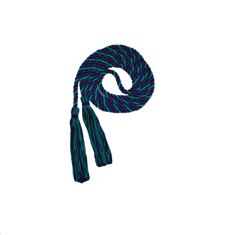 purple and teal honor cord from senior class graduation products