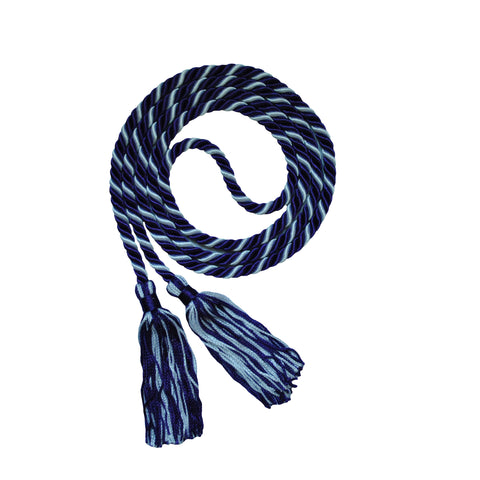 purple and white honor cord from senior class graduation products