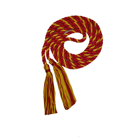 red and gold honor cord from senior class graduation products