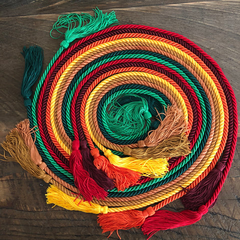 assorted color honor cords from senior class graduation products