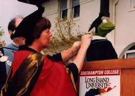 kermit the frog honorary degree recipient