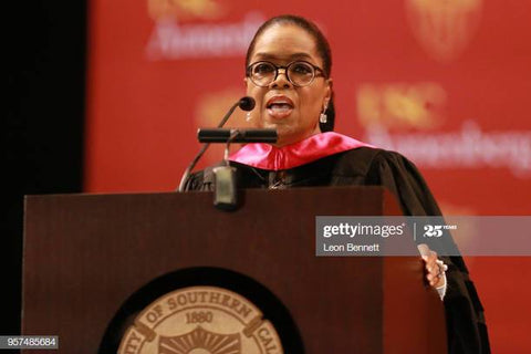 Oprah Winfrey Speaks at UNC Annenberg Graduation