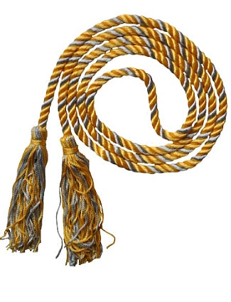 Gold-Silver graduation cord from Senior Class Graduation Products
