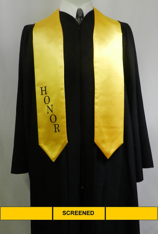 senior class graduation products honor stole