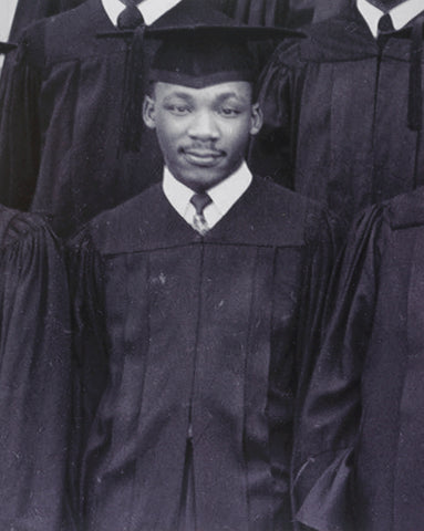 dr martin luther king jr as a student