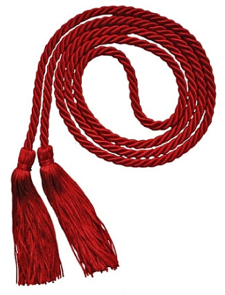 Red graduation honor cord from Senior Class Graduation Products