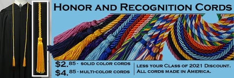honor cords from senior class graduation products