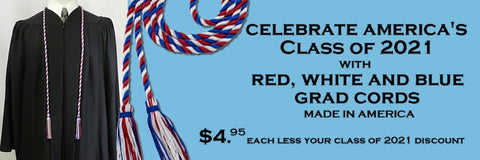 american honor cords from senior class graduation products