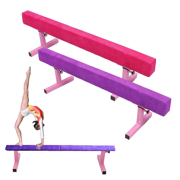 High Gymnastics Balance Beam 1.8M 6ft Adult Children's Gymnastics Gym Training Metal Feet Equipment - ACRO-GYM Shop