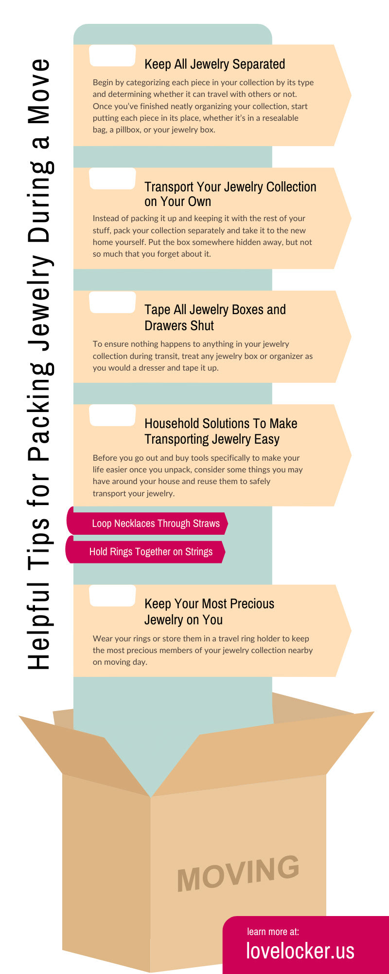 Helpful Tips for Packing Jewelry During a Move