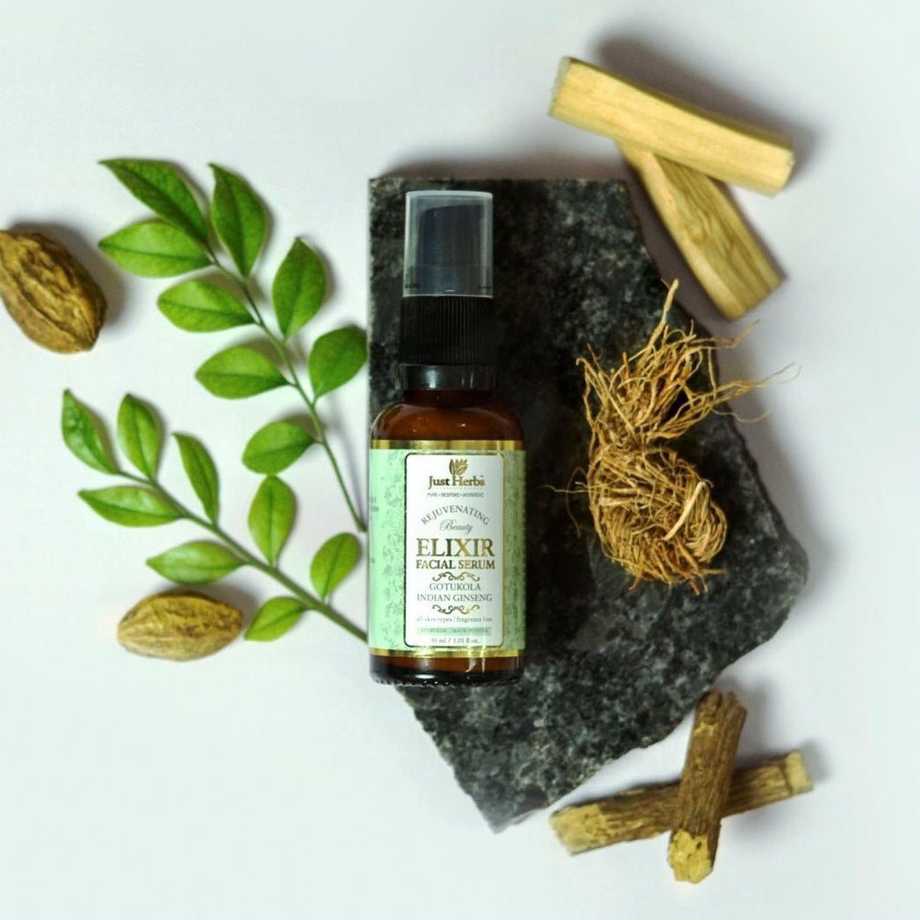 GOTUKOLA INDIAN GINSENG ELIXIR FACIAL SERUM - SOUL EARTH