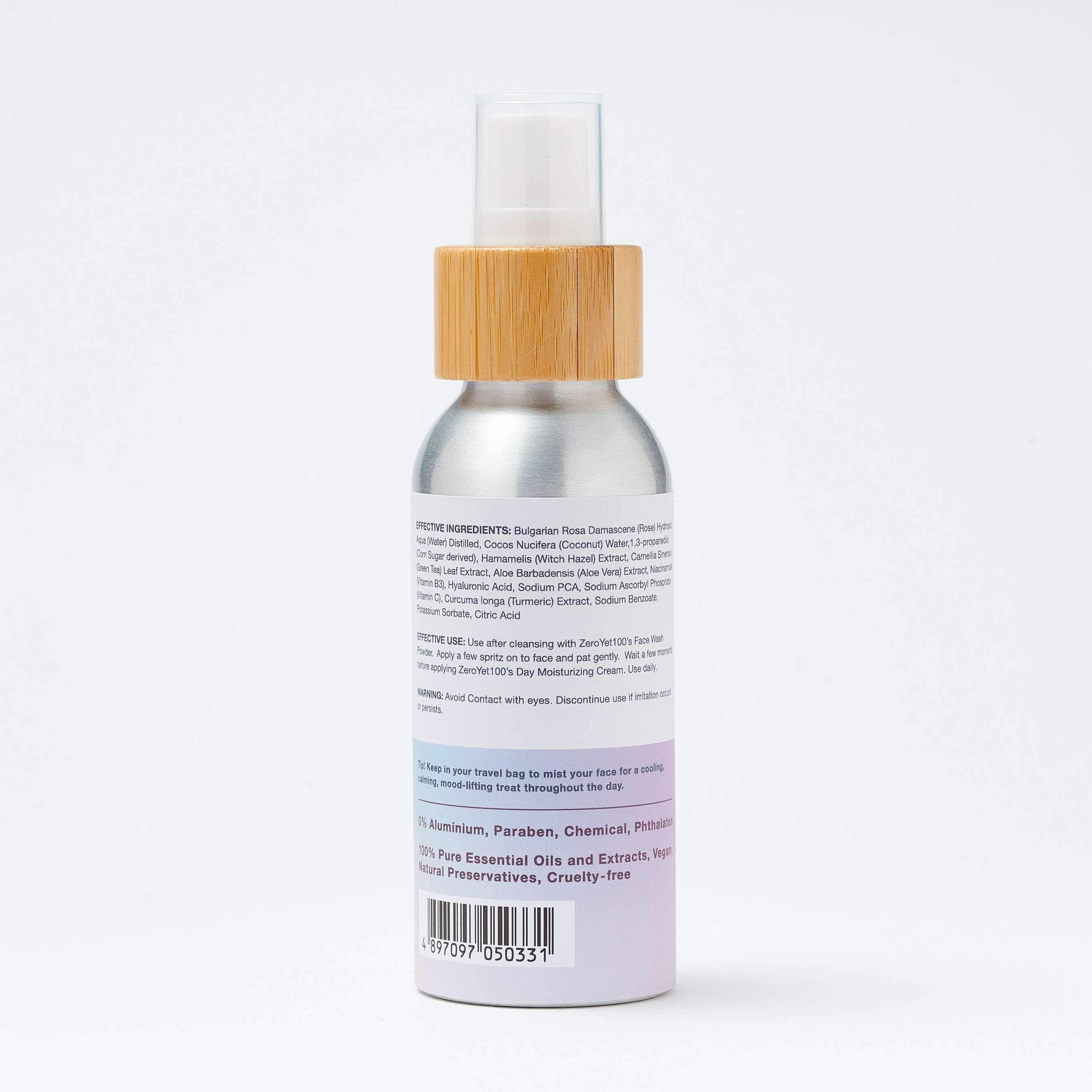 Nourishing Facial Toner Mist - SOUL EARTH