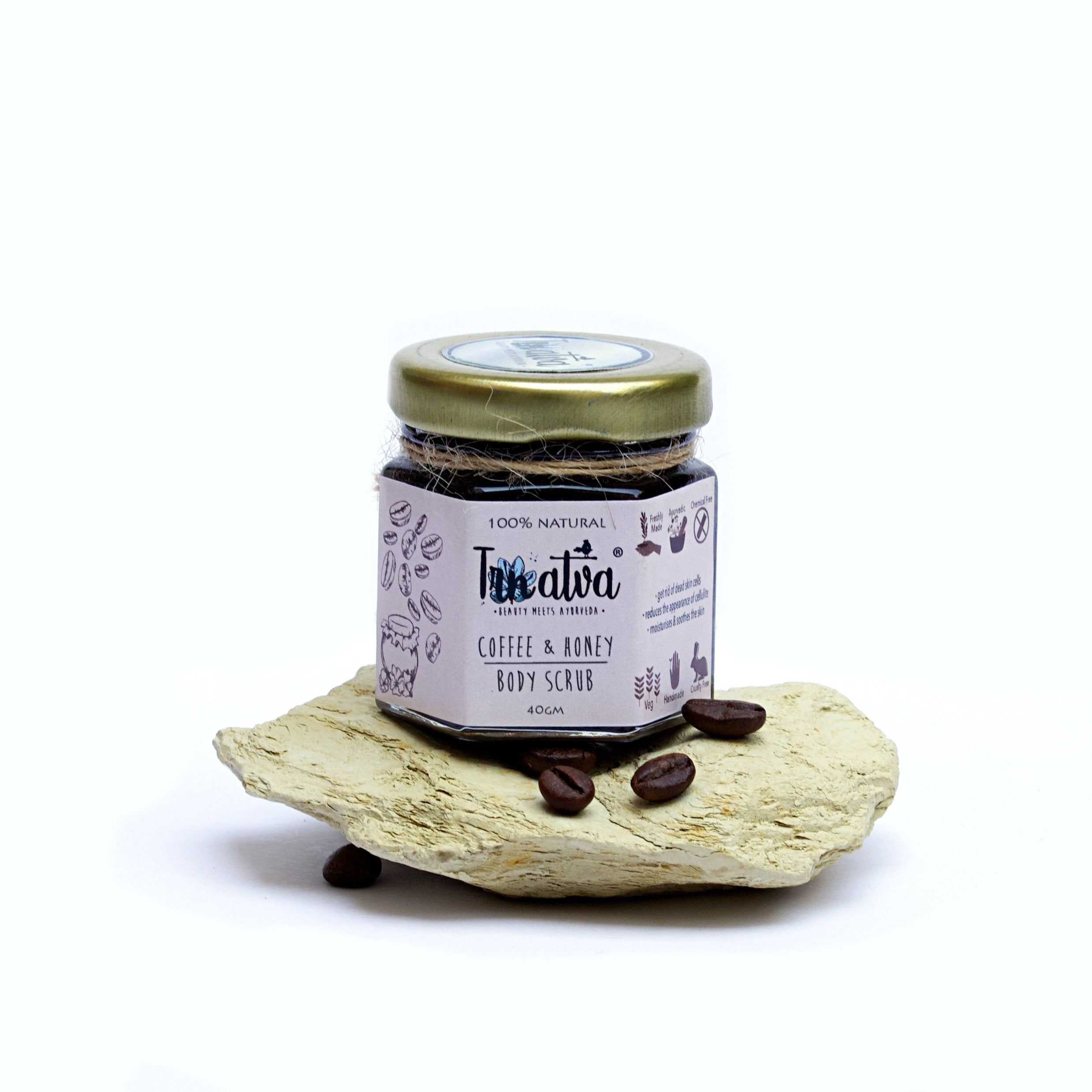 Coffee & Honey Body Scrub - SOUL EARTH