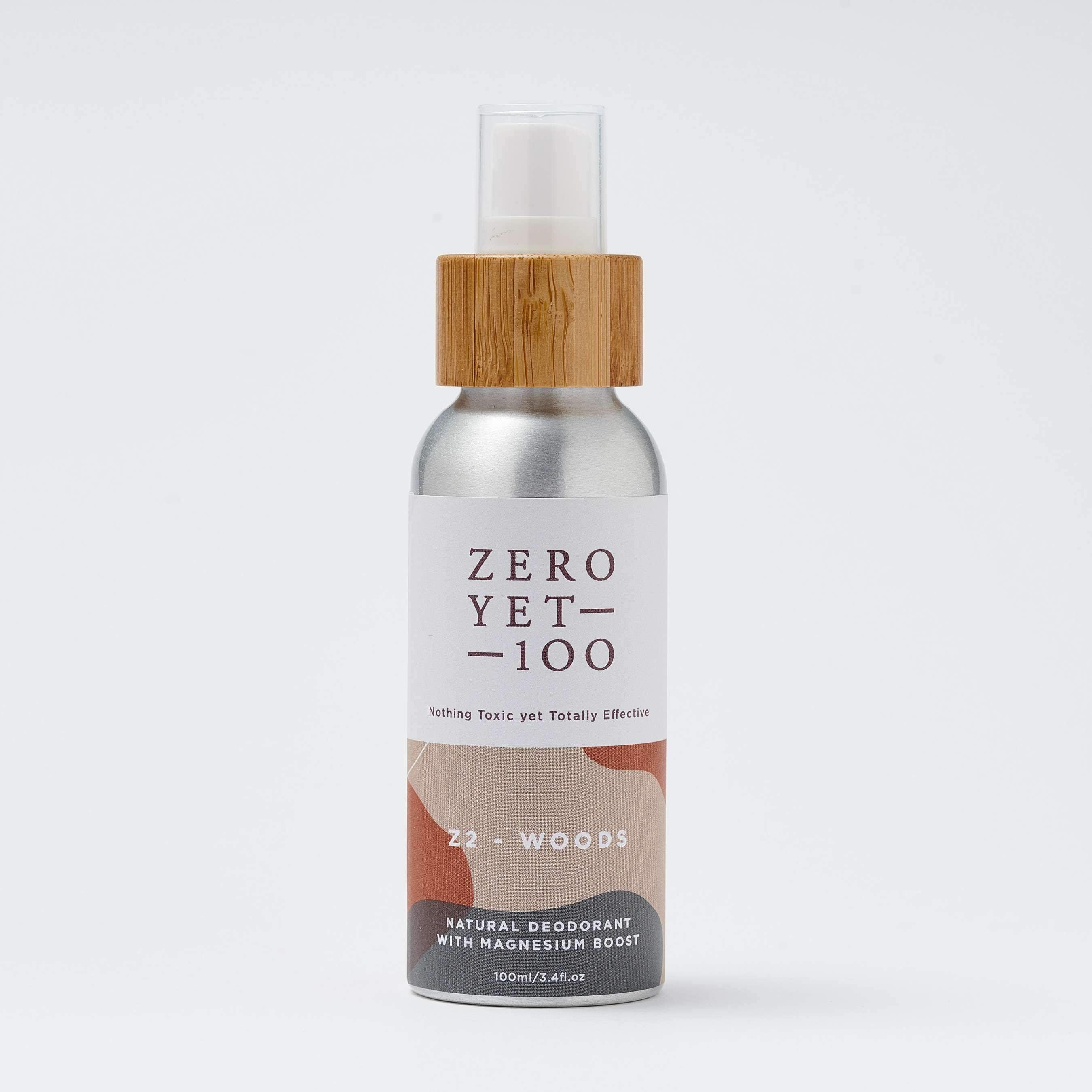 Z2 Woods Deodorant Spray - SOUL EARTH
