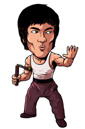 BRUCE LEE (STICKER)
