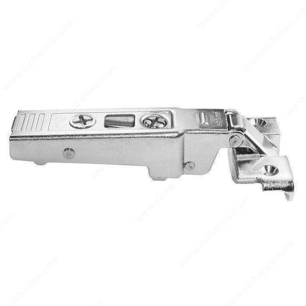 Screw-On Hinge - 95° for Aluminum Doors - Self-Closing SCREW-ON-European Hinges-www.Parts4Cabinets.com