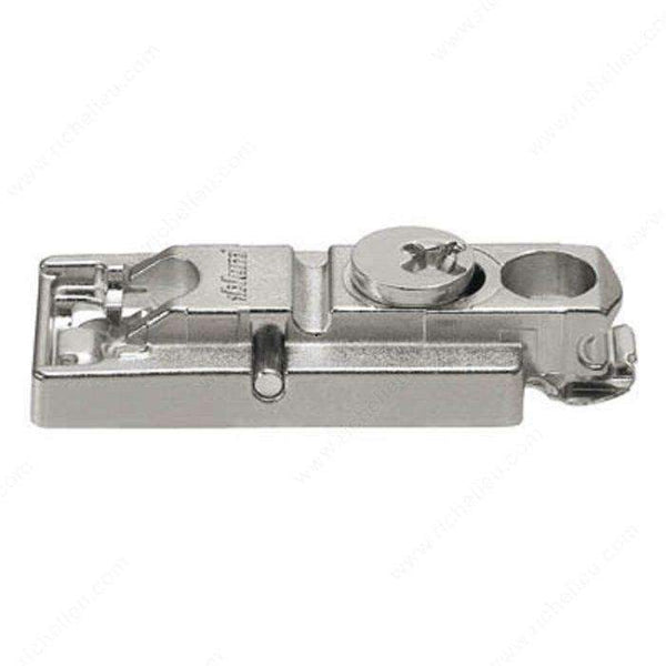 Mounting Plate Clip, Adjustment 0 mm-Hinge Mounting Plates-www.Parts4Cabinets.com