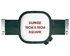 15cm Square Hoop, 360 Needle Spacing, Tajima, Brother & Toyota Compatible