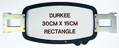 "Durkee 11.75"" x 6"" Rectangular Hoop - Brother PR600 Series/Baby Lock Compatible"