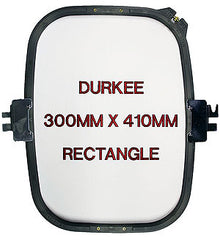 300mm x 410mm Rectangular Jacketback Hoop, 380 Needle Spacing, Barudan Compatible