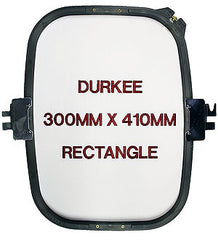 300mm x 410mm Rectangular Jacketback Hoop, 520 Needle Spacing, Barudan Compatible
