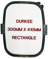 300mm x 410mm Rectangular Hoop, 360 Needle Spacing, Happy Compatible