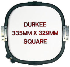 335mm x 329mm Square Jacketback Hoop, 360 Needle Spacing, Happy Compatible