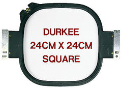 24cm x 24cm Square Hoop, 360 Needle Spacing, SWF & Inbro Compatible